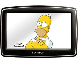 Homer Simpson's Voice for TomTom GPS Systems