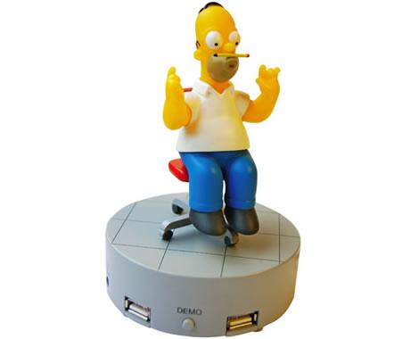 Homer Simpson USB Hub