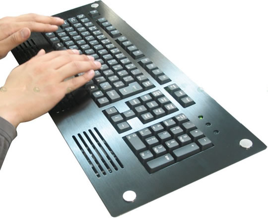 Thanko USB Cooler and Heater Keyboard