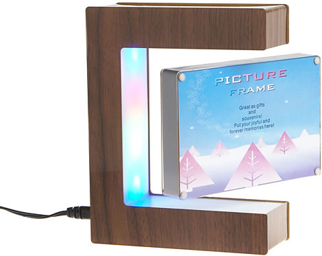 Levitating Photo Frame with Multicolor Lights