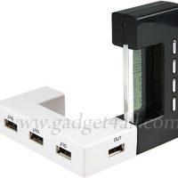 USB Hub with LCD Calendar