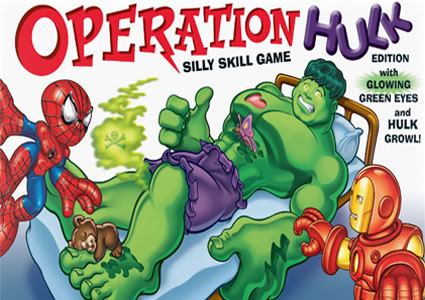 Hulk Operation Game
