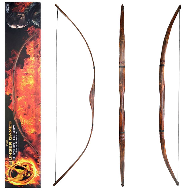 Hunger Games District 12 Katniss Hunting Bow Prop Replica