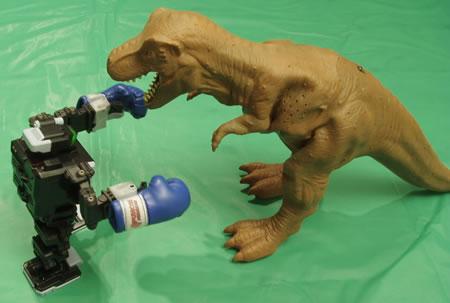 i-SOBOT vs Godzilla