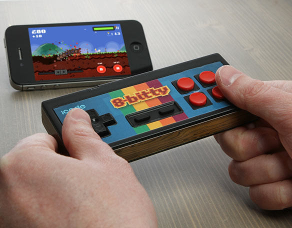 iCade 8-Bitty Retro Wireless Game Controller for iPhone iPad Android