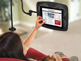 iPad Adjustable Floor Stand
