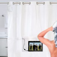 iPad Musical Shower Curtain