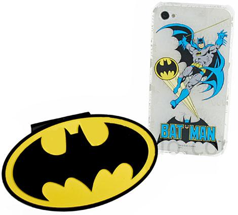 iPhone 4/4S Batman Back Case with Logo Dock