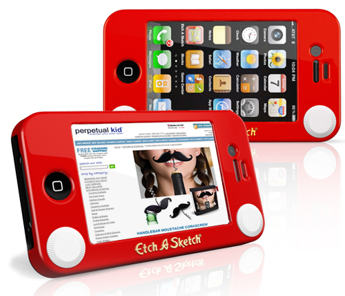 iPhone Etch-A-Sketch Case