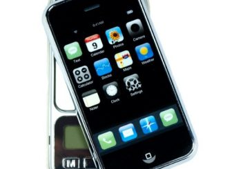 iPhone Shaped Digital Pocket Scale