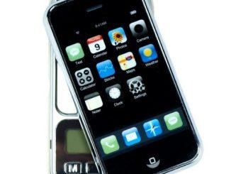 iPhone Shaped Digital Pocket Scale
