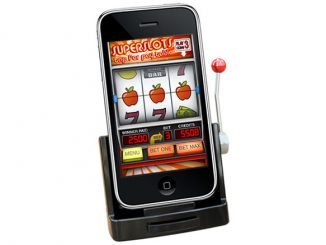 iPhone Slot Machine Dock