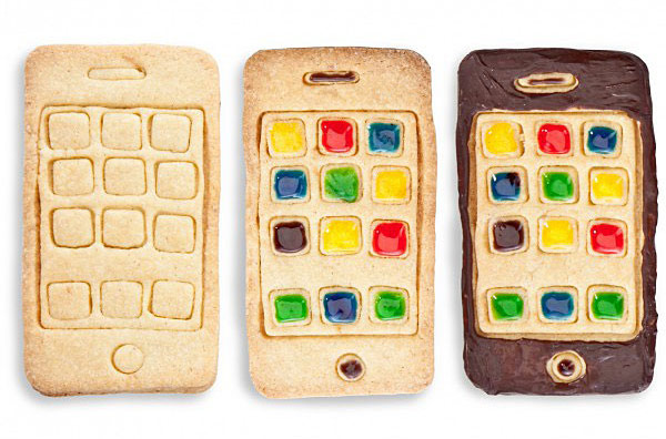 iPhone Styled Cookie Cutter