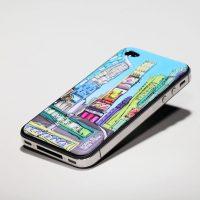 id America Cushi Art Deco iPhone 4S Case