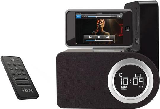 Rotatable iPod Alarm Clock