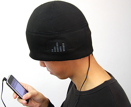 iHat MP3 Hat with Built-in Speakers