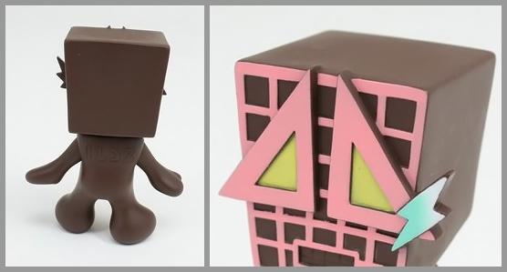 Illdozer ADS-bouya Designer Art Vinyl Toy