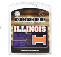 University of Illinois Fighting Illini Flash Drive