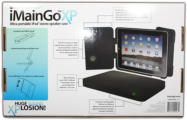iMainGo XP Box Back
