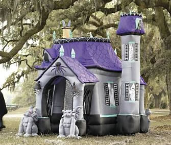Inflatable Cryptic Halloween Castle