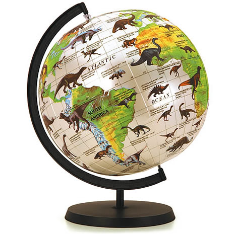 Inflatable Dinosaur World Globe