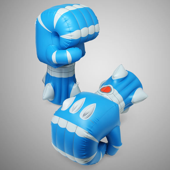 inflatable robot fists