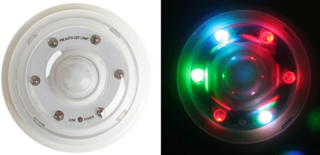 Infrared Motion Colour LED Light