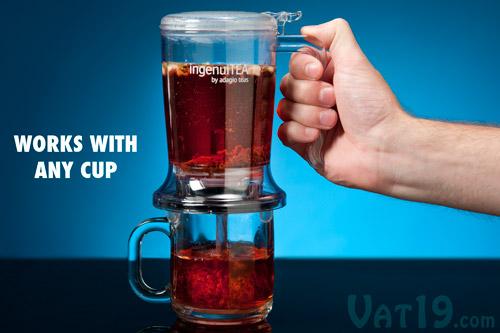 ingenuiTEA Loose Leaf Tea Teapot