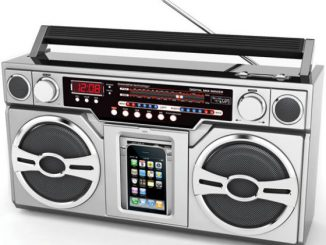 iPod Boombox with Radio