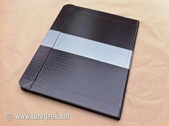 iPad 2 Duct Tape Case Back