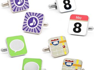 iPhone App Button Cufflinks