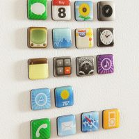 iPhone App Refrigerator Magnets