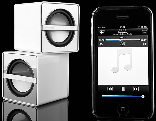 iPhone OS 3.0 Bluetooth Speakers