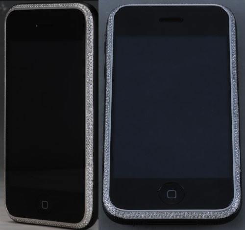 $4,000 iPhone 3G with Diamonds