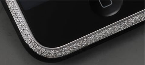 $4,000 iPhone 3G with Diamonds