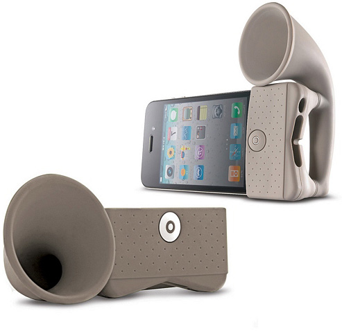 iPhone Horn Speaker Stand