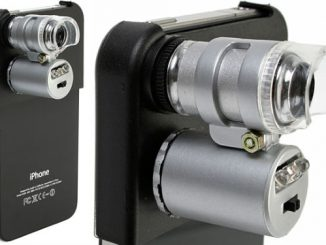 iPhone 4 Microscope