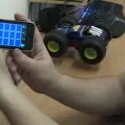 iPhone to Control R/C Car (Video)