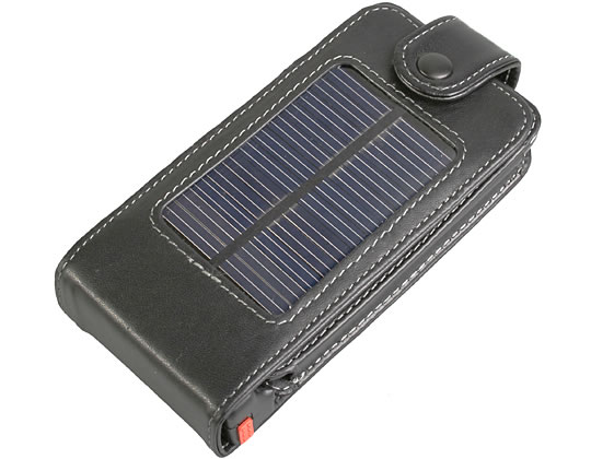 Solar-Powered iPhone Case