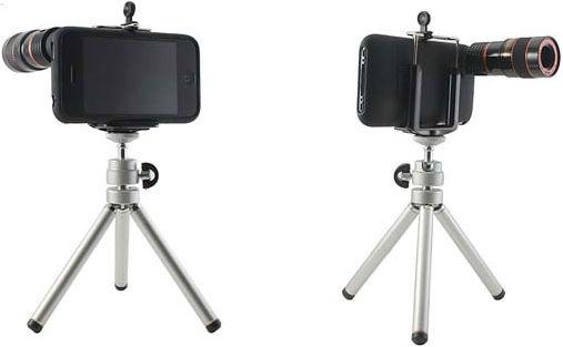 iPhone 8x Telescope with Tripod