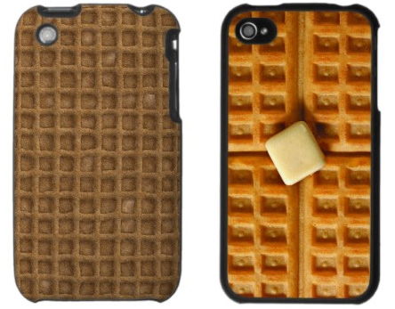 Waffle iPhone Cases