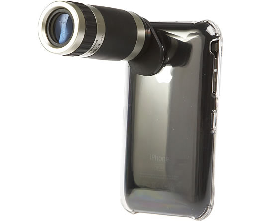 iPhone 3G Telescope