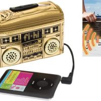 Mini Boombox iPod Speaker Pouch