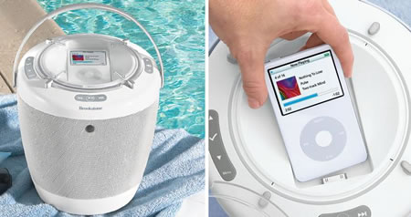 BoomBucket iPod Music System