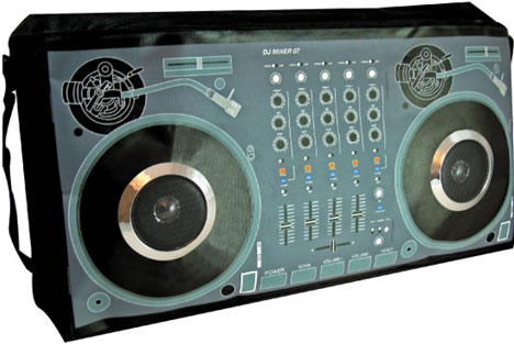 iPod DJ Mixer Stereo Boom Bag