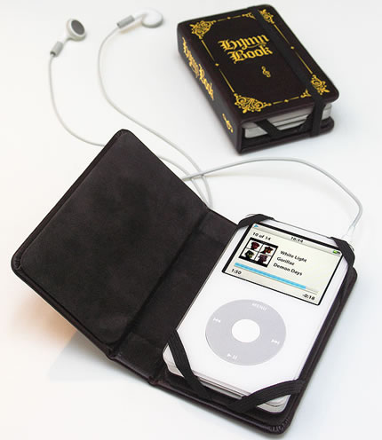 iPod Leather Hymn Book Cover