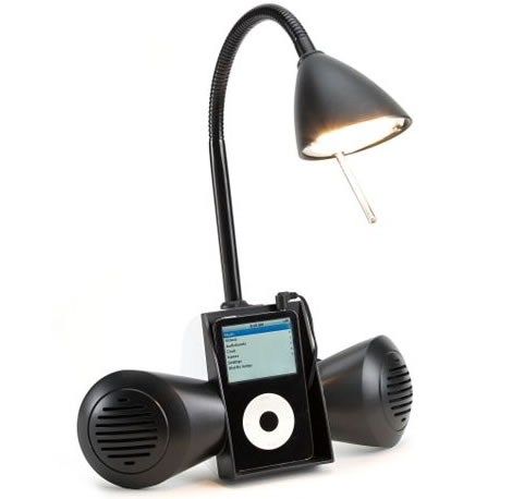 Halogen iPod Desk Lamp