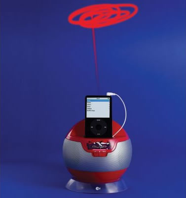 iPod Laser Light Show Speaker