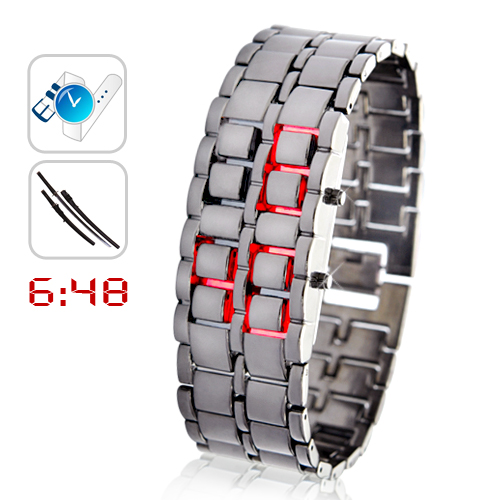 Iron Samurai LED Watch