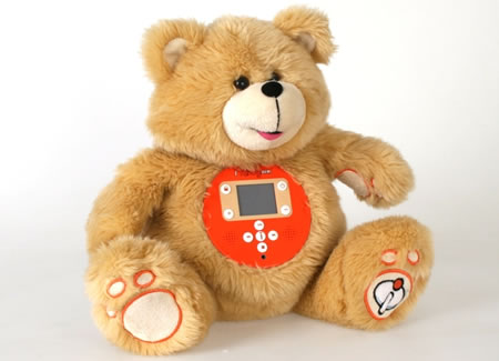 Iteddy Multimedia Teddy Bear
